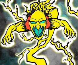 Electric Hero Poster
