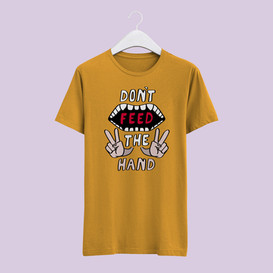 Don't Feed The Hand - Incorrect Proverb Shirt