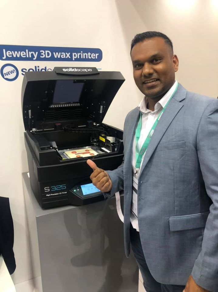 Farrel Pillay 3D Wax Worx Launch of the