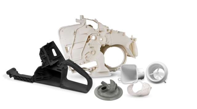 SLS 3D printer solutions by 3D Systems