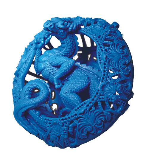 Wax dragon pendant SILO CMYK by OG-Art o