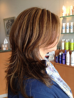 Highlight & Haircut by Nina