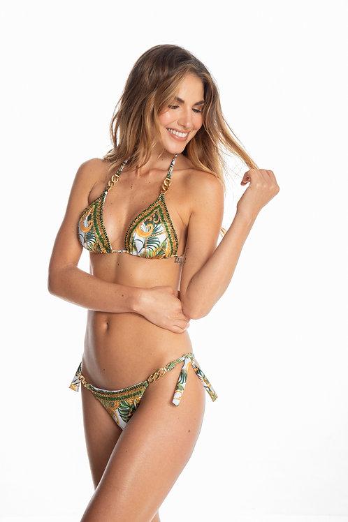 gypsy with chains bikini top