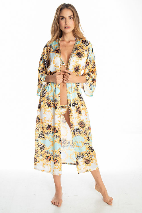 OLYMPIA LONG TUNIC COVER UP