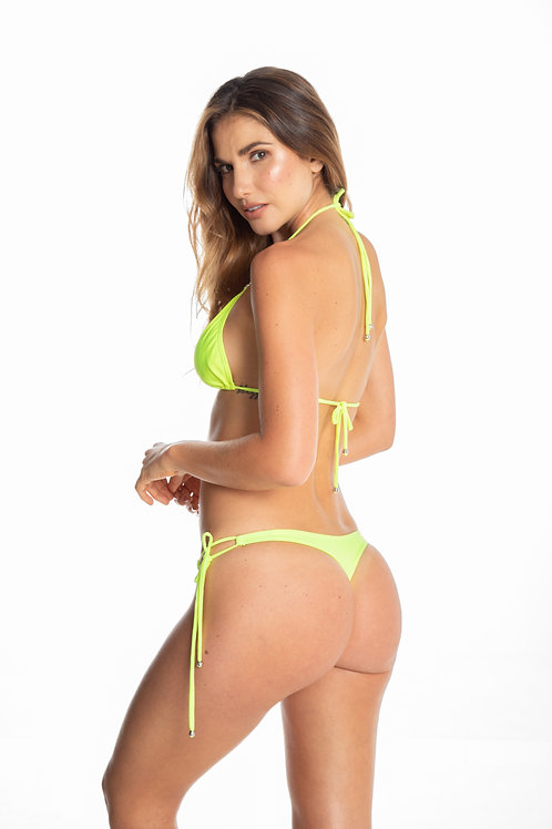 LEMON GREEN BRAZILIAN BIKINI BOTTOM