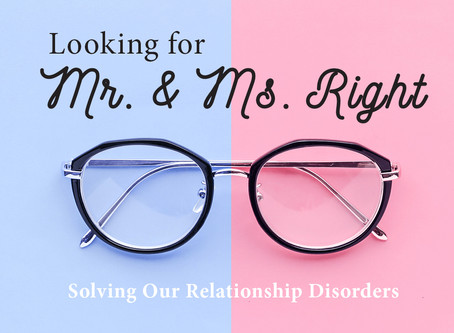 Is it Mr. Right/Ms. Right?