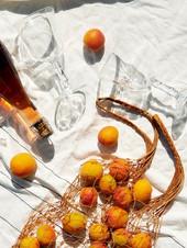 Peach Balsamic Fizz