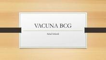 Vacuna BCG Tuberculosis