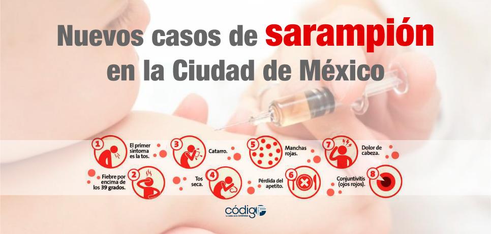 Sarampion en Monterrey