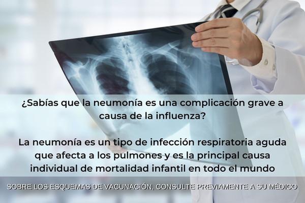 Campaña de Vacunacion contra la Influenza temporada 2019-2020 en Monterrey