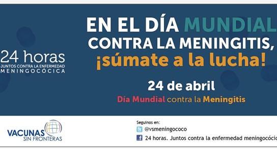 24 de Abril Día Mundial de la Meningitis...
