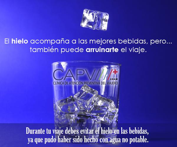 Si vas a viajar, debes cuidar el agua que consumirás...