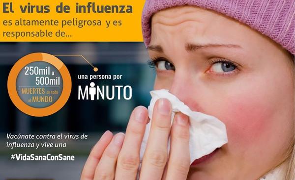 Campaña de Vacunación contra la Influenza 2015-2016