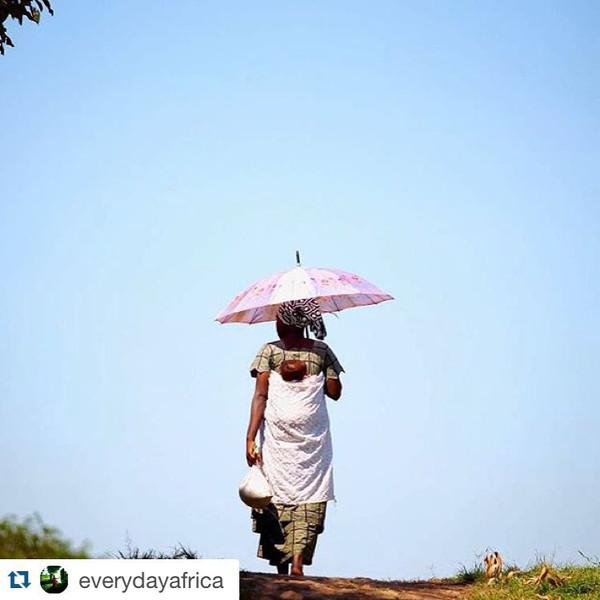 Un día cualquiera en Uganda, África