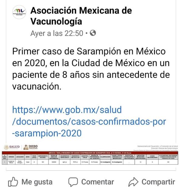Vacuna Sarampión en Monterrey