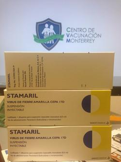 Vacuna Fiebre Amarilla Monterrey