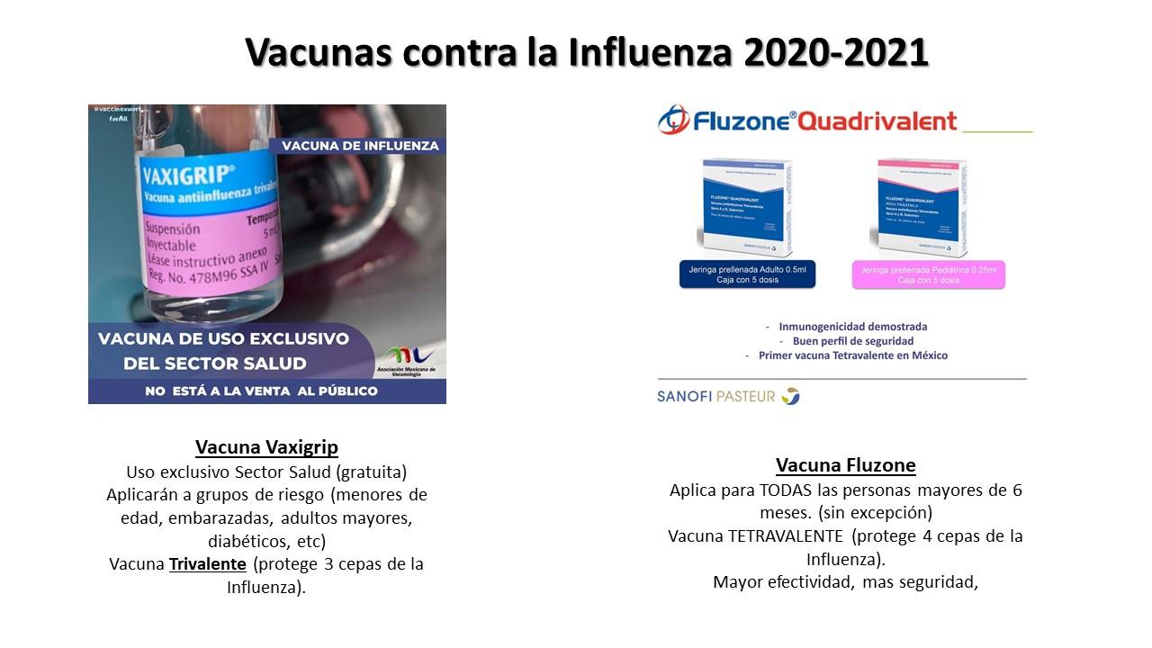 Vacuna influenza 2020-2021