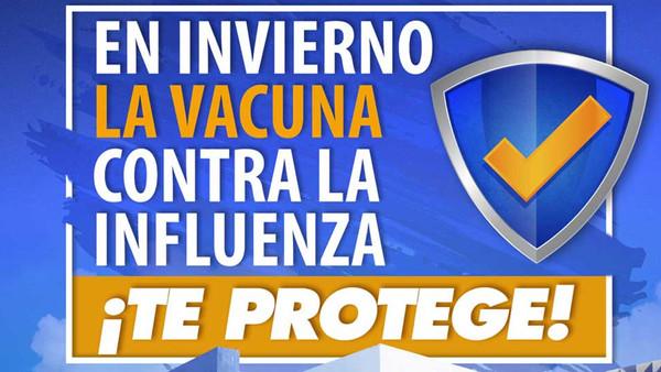 Campaña de Vacunación contra la Influenza temporada 2019-2020