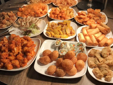 All you can eat vegetarian buffet in Hong Kong!