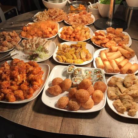 All you can eat vegetarian buffet in Hong Kong!