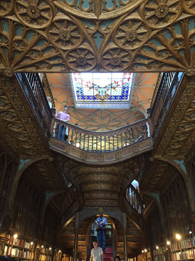 Lello library that inspired JK Rowling writing about the secret chamber in Harry Potter
