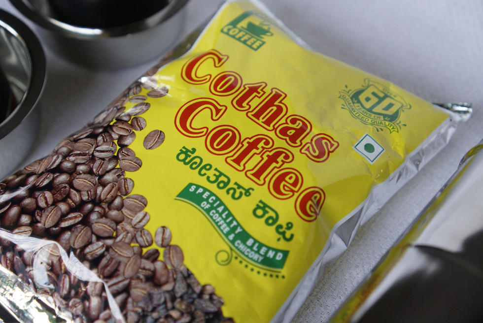 Indian filter coffee
