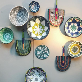 African baskets and weaves