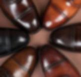 Броги на заказ черные, коричневые и бежевые