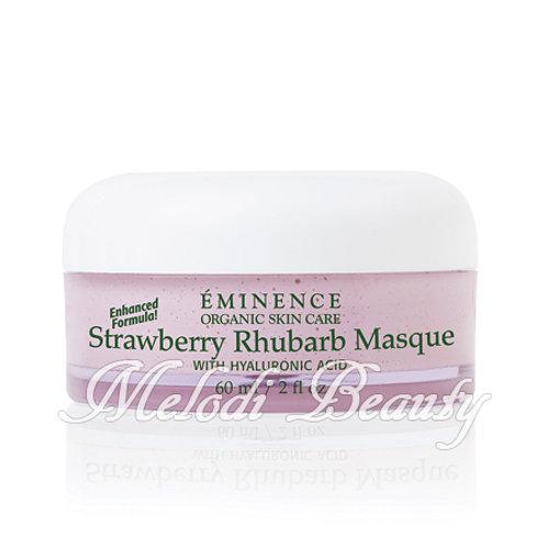 Eminence Strawberry Rhubarb Masque 草莓大豆透明質酸保濕面膜