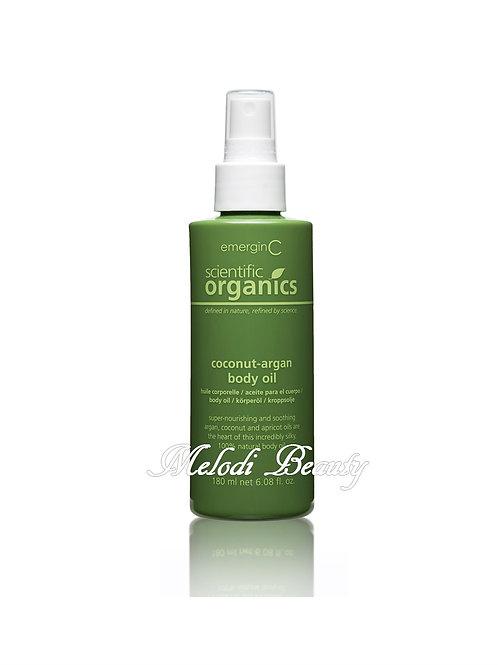 EmerginC Coconut-argan Body Oil 有機美膚按摩油