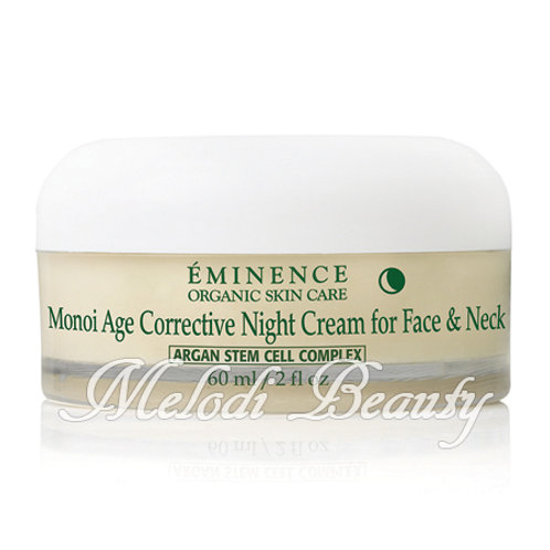 Eminence Monoi Age Corrective Night Cream梔子花逆齡面頸晚霜