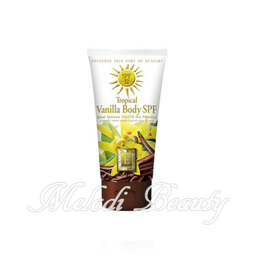 Eminence Tropical Vanilla Body SPF32 熱帶香草身體防曬霜