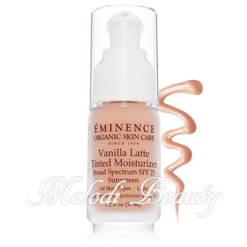 Eminence Vanilla Latte Tinted Moisturizer SPF25 香草調色防曬面霜 (淺色)