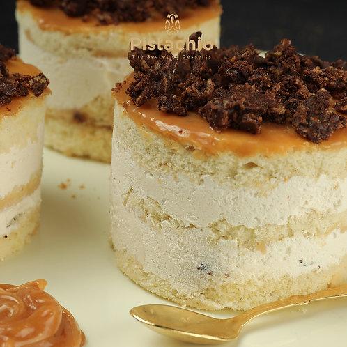 Round Caramel Cake