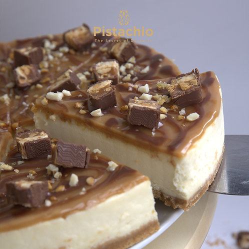 Snickers Cheesecake Torte