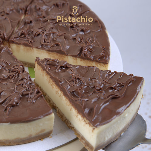 Nutella Cheesecake Torte
