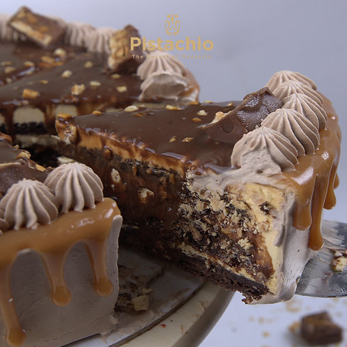 Snickers Cake Torte