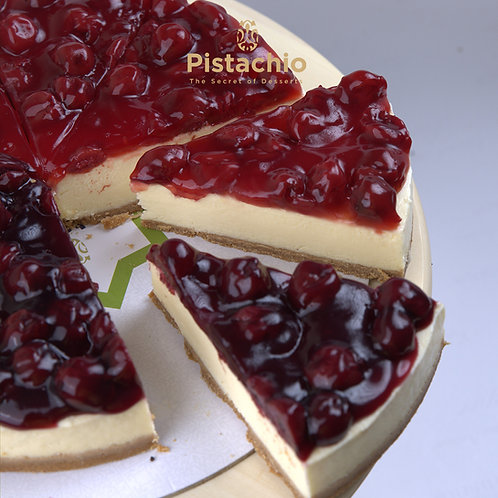 Cherry Cheesecake Torte