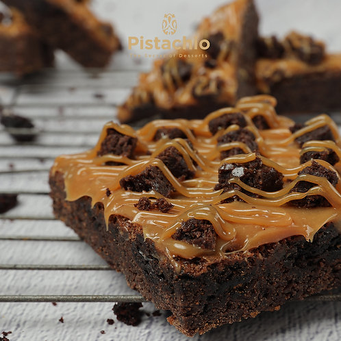 Caramel Cubes Brownies