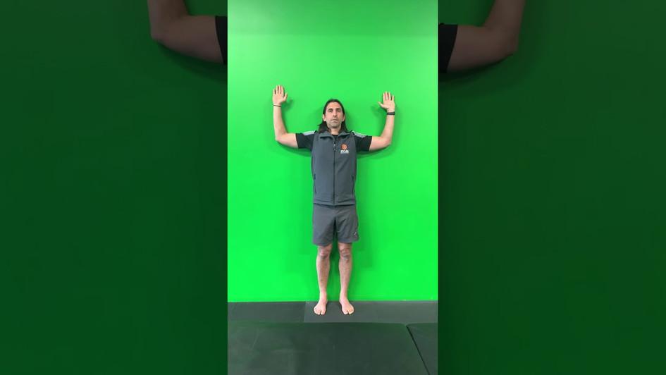 External Roation of Shoulder