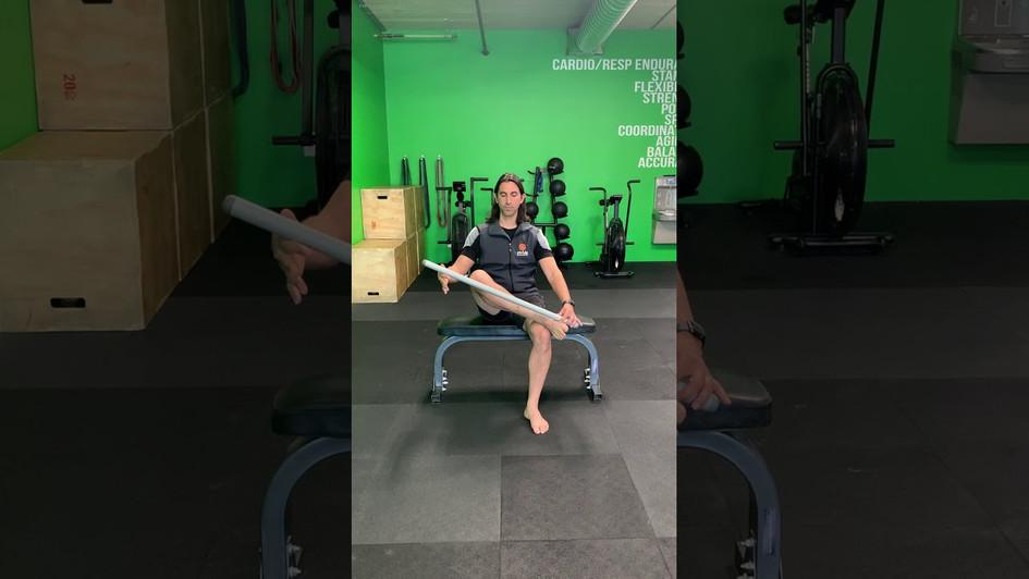 Leg Cross in Sitting