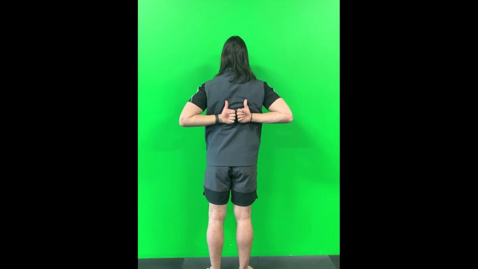 Internal Rotation of Shoulder