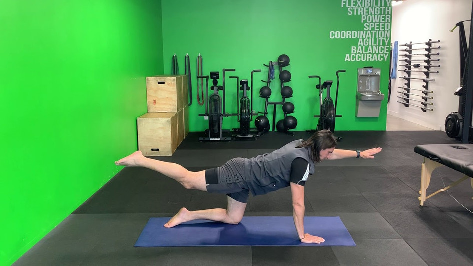 2-Point Kneeling (Pelvic Stability)