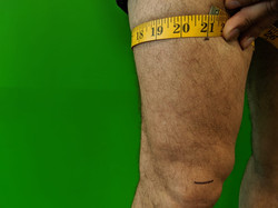 Measure Circumference of Thigh