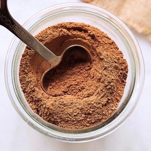 Chocolate cacao amargo en polvo