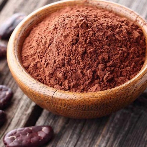Chocolate cacao dulce en polvo