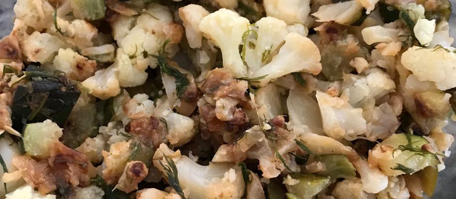 White-Green Salad