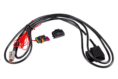 Haltech iC-7 OBDII to CAN Cable LENGTH: 3000mm / 120in