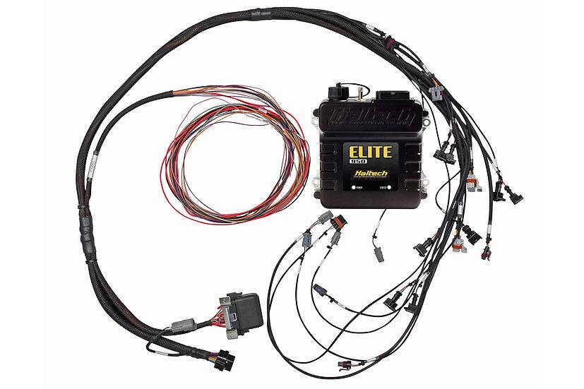 Haltech Elite 950 + GM GEN III LS1 & LS6 (non DBW) Terminated Harness Kit