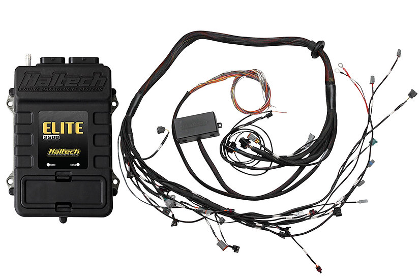 Haltech Elite 2000 + Toyota 2JZ IGN-1A Terminated Harness Kit